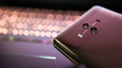 Huawei показали смартфон с необычной камерой