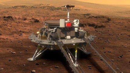 Китай вторым в истории успешно совершил сложную посадку на Марс (видео)