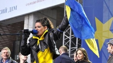 Руслана: Путин дал команду на разгон Евромайдана