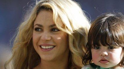 Шакира оказалась очень внимательной и заботливой матерью