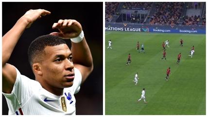 Килиан Мбаппе забил спорный мяч в финале Лиги наций