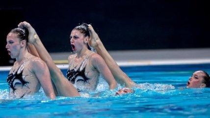 Украина - победитель Суперфинала Мировой серии по артистическому плаванию