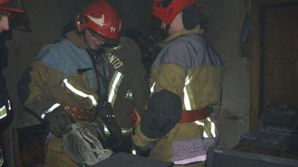 В Ужгороде произошел пожар в помещении Госэкоинспекции