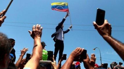 """""""Мы сильны, как никогда"""": Гуайдо произнес пламенную речь в Каракасе"""
