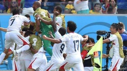 ЧМ-2014. Сенсационная победа Коста-Рики в матче с Италией