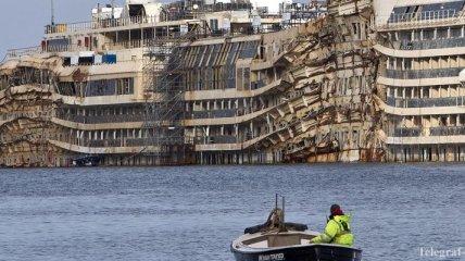 Круизный лайнер Costa Concordia планируют утилизировать