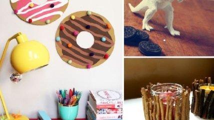 15 замечательных предметов декора, сделанных своими руками (Фото)