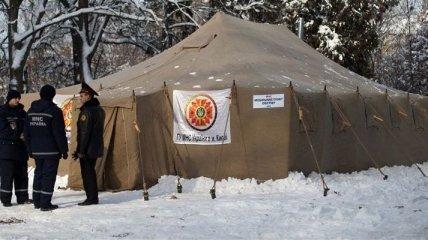 На Одесчине установили 188 пунктов обогрева
