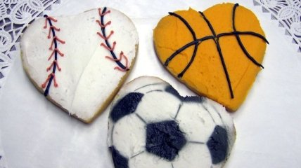 Уникальное спортивное поздравление с Днем Святого Валентина