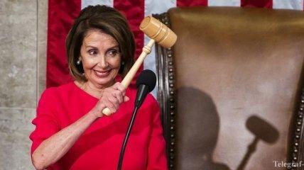 Спикером палаты представителей конгресса США выбрали демократку