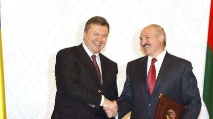 Янукович и Лукашенко провели встречу в Киеве