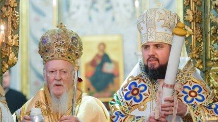 В Софийском соборе в Киеве провели рождественскую литургию (Видео)