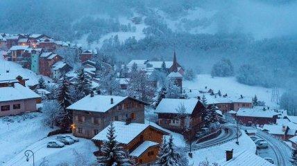 Зимняя Франция (Фото)