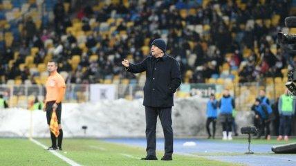 Луческу во время матча наорал на оператора, который пытался подслушать его (видео)