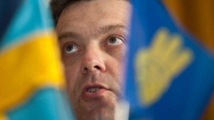 """Тягнибок призвал ночным бдением """"защитить"""" результаты выборов"""