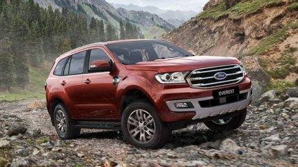Внедорожник Ford Everest вышел в Sport-версии (Фото)
