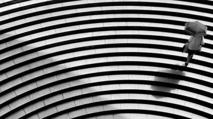 """""""Тихий Токио"""": одиночество мегаполиса в симметричных снимках (Фото)"""