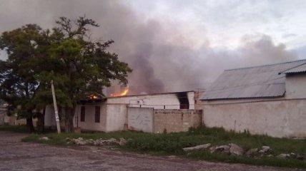 В городе Амвросиевка стреляли (Фото, Видео)
