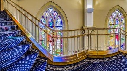 Витражное стекло: стильная изюминка в интерьере (Фото)