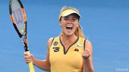 Элина Свитолина прокомментировала свой выход в полуфинал Брисбена