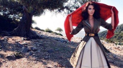 Белорусская модель Марина Линчук в объективе Фила Пойнтера (Фото)