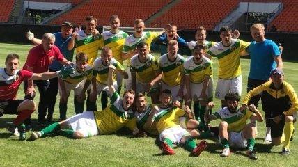 Черкащина-Академия разгромила Сумы в матче плей-офф за выход в Первую лигу