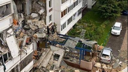 От некоторых квартир в доме, где произошел взрыв газа, ничего не осталось