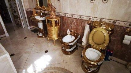По карману многим: выяснилось происхождение золотого унитаза в особняке топ-чина ГИБДД РФ (фото)