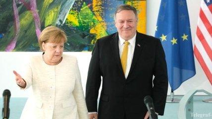 В Госдепе рассказали о возможных переговорах Помпео и Меркель по Украине