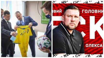 Владимир Зеленский и Александр Бабич