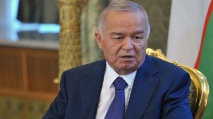 На узбекском ТВ зачитали обращение Каримова с Днем независимости