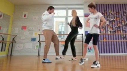 Усик і Полякова влаштували запальний танець (Відео)