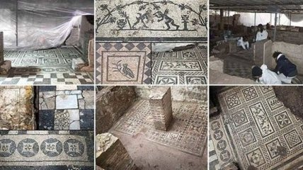 Глубоко под землей обнаружены древнеримские военные казармы и вилла командира