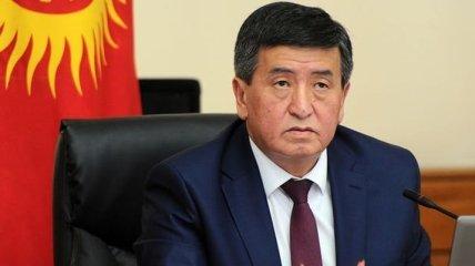 Новый президент Кыргызстана официально вступил в должность