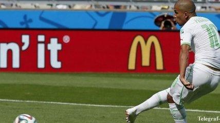 Как футболисты Алжира набожно радовались историческому голу
