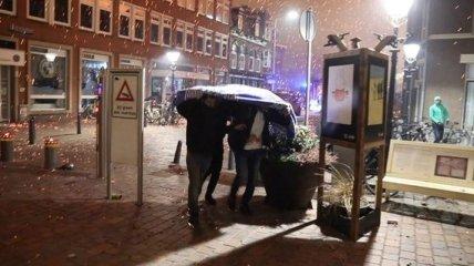 В Нидерландах фаер шоу и салюты закончились эвакуацией и пожаром