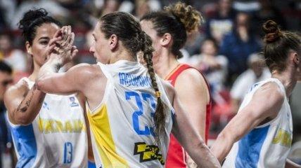 Женская сборная Украины по баскетболу поднялась в рейтинге FIBA