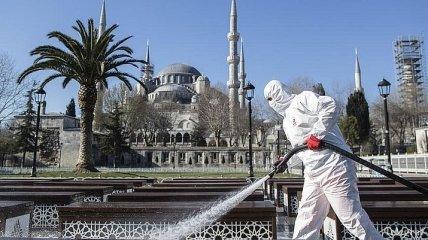 Коронавирус в Турции: количество инфицированных приближается к тысяче