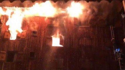 Пожар на горнолыжном курорте Куршевель, есть погибшие и пострадавшие