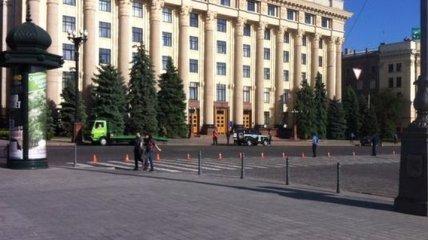 В машине в центре Харькова искали взрывчатку