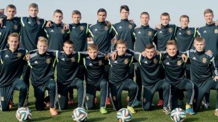Отбор на Евро-U17. Ничья на старте сборной Украины