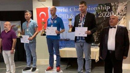 Украинец Аникеев выиграл чемпионат мира по шашкам