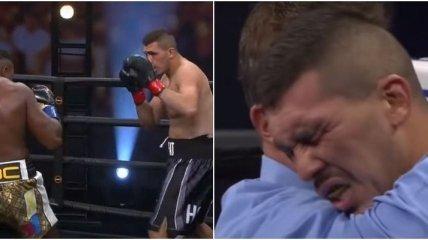 Боксер-суперваговик може втратити значний гонорар через симуляцію нокауту (відео)
