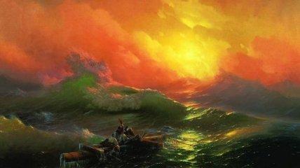 Безграничное и яростное море великого художника Ивана Айвазовского (Фото)