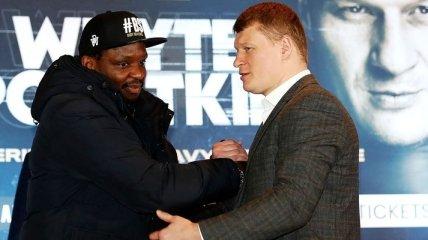 Поветкин и Уайт сразятся за бриллиантовый пояс WBC