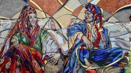 Потрясающие портреты в мозаике от известной художницы (Фото)