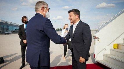 Зеленский прибыл в Германию: детали визита