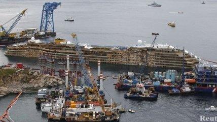 Пассажирам Costa Concordia вернут их ценные вещи