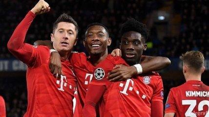 Левандовски повторил достижение Роналду в Лиге чемпионов