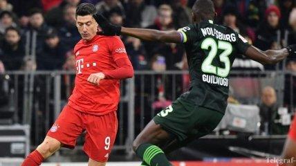 Бавария - Вольфсбург: видео голов и обзор матча 21.12.19 (Видео)